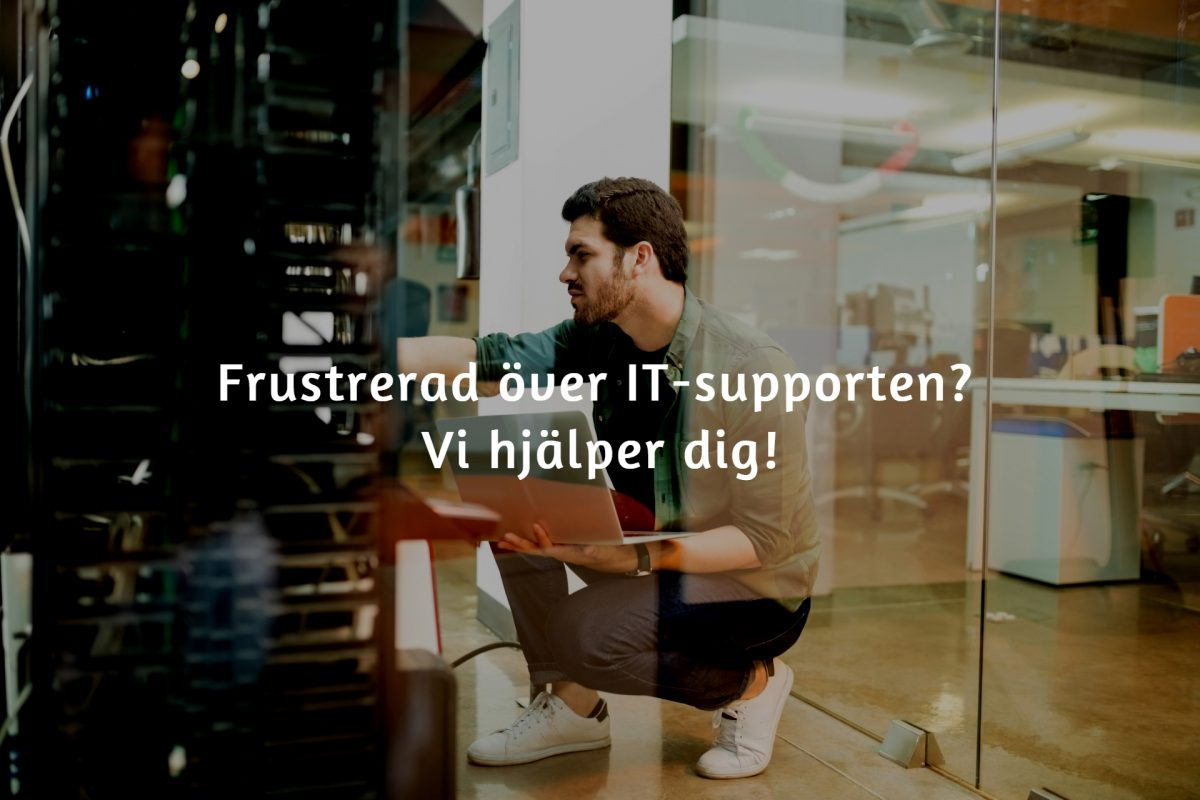 Det här gör en it-supporttekniker